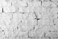 Hintergrundsammlung - weiße Backsteinmauer stockbild