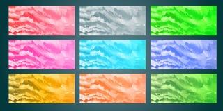 Hintergrundsammlungs-Aquarellkonzept EPS10 lizenzfreie abbildung