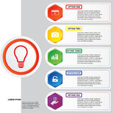 Hintergrundschablone des modernen Designs oder Websiteplan Information-Grafiken Vektor Stockbilder