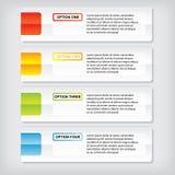 Hintergrundschablone des modernen Designs oder Websiteplan Information-Grafiken Vektor Lizenzfreies Stockfoto