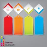 Hintergrundschablone des modernen Designs oder Websiteplan Information-Grafiken Vektor Stockfotos
