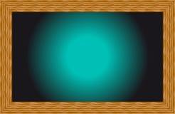 Hintergrundschwarzglühen mit einem Entwurf des Holzes Lizenzfreies Stockbild