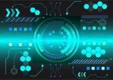 Hintergrundtechnologie Lizenzfreies Stockfoto