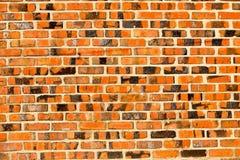 Hintergrundwand blockiert orange Ziegelstein, Stockfoto