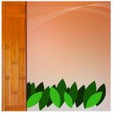Hintergrundwanddekoration Thailand Stockbild