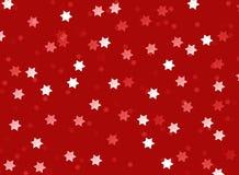 Hintergrundweihnachten spielt rote weiße Beschaffenheitszusammenfassung die Hauptrolle Lizenzfreie Stockbilder