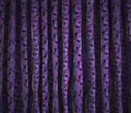 Hintergrundweinlesevorhänge Stockbild