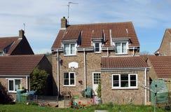 Hinterhof des Familienheims Stockfoto