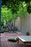Hinterhof im Trauben-Tal Turpan Xinjiang stockbild