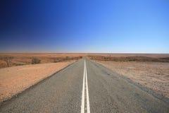 Hinterland-Australien-Straße Stockbild