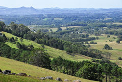 Hinterland countryside in Australia Royalty Free Stock Photo