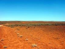 Hinterland-Spur Stockfoto