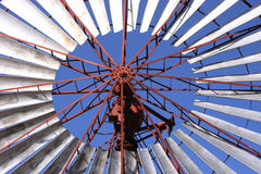 Hinterland windpump Stockbild