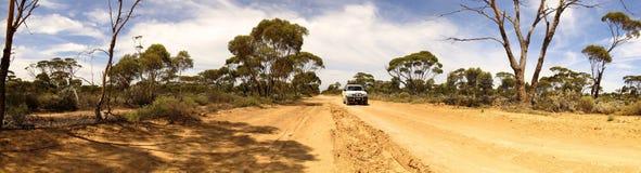 Hinterlandstraße, Australien Lizenzfreie Stockfotos