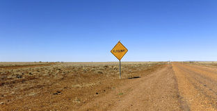 Hinterlandstraße, Australien stockfoto