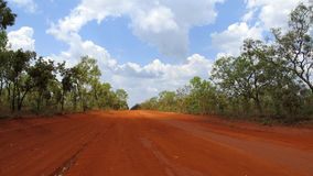 Hinterlandstraße, West-Australien stockbild