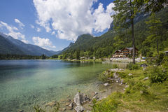 Hintersee, Alpes, Autriche, l'Europe image libre de droits