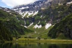 Hintersee. Close view of the Hintersee lake, Hintersee, Salzburg, Austria Stock Photos