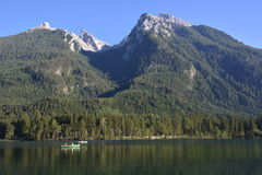Free Hintersee In German Alps Royalty Free Stock Photo - 78820185