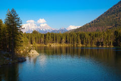 Hintersee lake in Alps, Germany Royalty Free Stock Photography