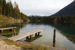 Hintersee Ramsau, Germania Immagine Stock