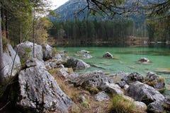 Hintersee Ramsau, Germania Immagini Stock Libere da Diritti