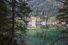 Hintersee Ramsau, Germania Fotografie Stock