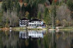 Hintersee Ramsau, Germania Fotografia Stock Libera da Diritti