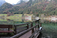 Hintersee Ramsau, Germania Fotografia Stock