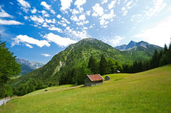 Hinterstein Allgau Royalty Free Stock Photos