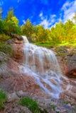 Hinterstein della cascata in allgau Fotografie Stock
