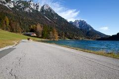 Hinterstein Lake in Tyrol, Austria Royalty Free Stock Photo