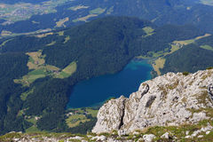 Hintersteiner See Royalty Free Stock Photography