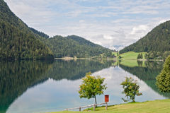 Hintersteiner See, Wilder Kaiser, Tirol, austria Royalty Free Stock Photos