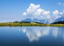 Hintersteinersee-Gebirgssee Lizenzfreie Stockfotografie