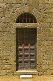 Hintertür des Klosters Stockfoto