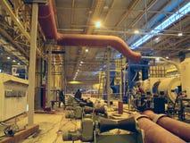 Hinterteilrollen auf Eisenmetallurgie Stockfoto