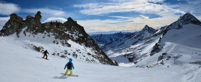 Hintertux Glacier Stock Photography
