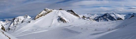 Hintertux Glacier Royalty Free Stock Photo