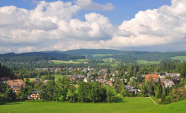 Hinterzarten,Schwarzwald,black forest,germany Stock Photos