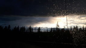 Hinton μετά από τη βροχή στοκ εικόνες