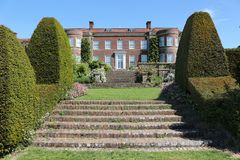 Hinton Ampner. Is a stately home and gardens in Hampshire, England royalty free stock photography