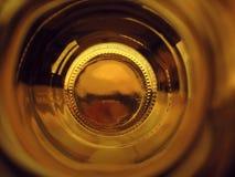 Hinunter den Tunnel stockbild