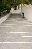 Hinunter die Treppen Lizenzfreie Stockfotografie