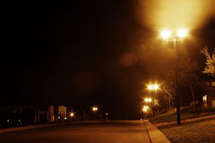Hinunter meine Straße Stockfoto