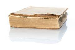 Hinweis des alten Buches Stockbild