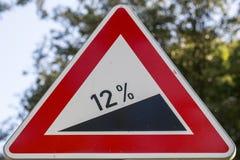 Hinweiszeichen entlang der Straße Lizenzfreie Stockfotografie