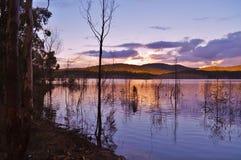 Hinze tama, Queensland, Australia zdjęcia royalty free