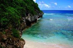 Hio礁石,纽埃 免版税库存照片