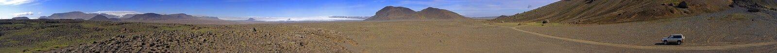 Hiodufell volcanic landscape Stock Image